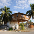 House on stilts, Key Largo Florida — Stock Photo