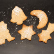 Baking Christmas Cookies — 图库照片