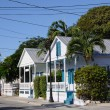 Traditional Wooden Houses at Key West, Florida USA — Stock Photo