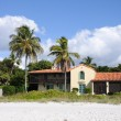 House at the beach of Naples, Florida USA — Stock Photo