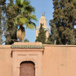 KoutoubiMosque in Marrakech, Morocco — Stock Photo #6387047