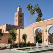 Koutoubia Mosque in Marrakech, Morocco — Stock Photo