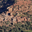 Stock Photo: Small Berber village in Atlas mountains, Morocco