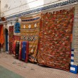 Carpets for sale in Essaouria, Morocco Africa - Stock Photo