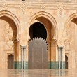Detail of Hassan II Mosque in Casablanca, Morocco - Stock fotografie