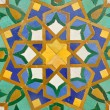 Stock Photo: Oriental mosaic decoration in Casablanca, Morocco