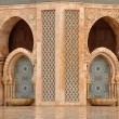 Detail of Hassan II Mosque in Casablanca, Morocco - Photo