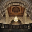Inside of the Hassan II Mosque in Casablanca, Morocco - Photo