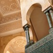 Detail of Hassan II Mosque in Casablanca, Morocco - 图库照片