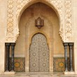 Detail of Hassan II Mosque in Casablanca, Morocco — Stock Photo