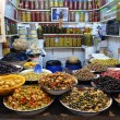Stock Photo: Olive Stall in Medinof Fes, Morocco