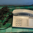 Old classic telephone — Stock Photo