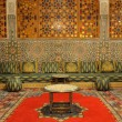 Stock Photo: Oriental decorated lounge in Morocco
