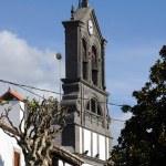 Church in town Firgas, Gran Canaria Spain — Stock Photo
