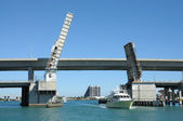 Biscayne Bridge in Miami, Florida — Stock Photo