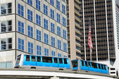 Miami downtown train system — Stockfoto