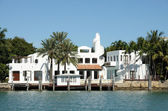 House waterside in Florida, USA — Stock Photo