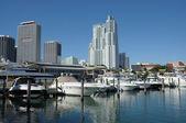 Miami Bayside Marina, Florida — Stock Photo