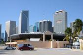 Downtown Miami, Florida USA — Stock Photo