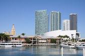 Miami Bayside Marina — Stock Photo