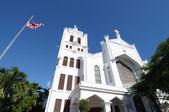 St. Paul's Episcopal Church, Key West, Florida USA — Stock Photo