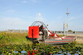 Airboat in Everglades National Park, Florida USA — Stock Photo
