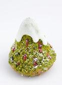 Vánoční pekárna - jedle izolované na bílém — Stock fotografie