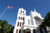 St. Paul's Episcopal Church, Key West, Florida USA — Stock Photo