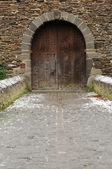 Gate in a Medieval Castle — Stock Photo