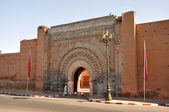 Bab Agnaou gate in Marrakech, Morocco — Stock Photo