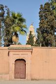 Koutoubia Mosque in Marrakech, Morocco — Foto de Stock