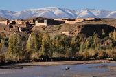 Berber village in Morocco, Africa — Stock Photo