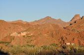 деревня в горах атлас, марокко — Стоковое фото
