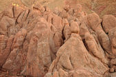 Rocks in Dades Gorge, Morocco — Stock Photo