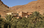 Casbah in Draa Valey, Morocco Africa — Stock Photo