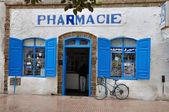 Farmacia en essaouira, marruecos africa — Foto de Stock