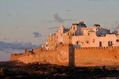 Uitzicht over essaouria in de avond, marokko — Stockfoto