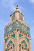 Hassan II Mosque in Casablanca, Morocco — Stock Photo