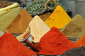 Oriental spices shop — Stock Photo