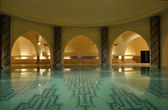 Inside of a traditional Hammam in Morocco, Africa — Stock Photo