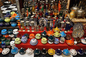 Souvenir shop in Morocco — Stock Photo