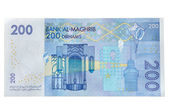 Two hundred Moroccan Dirhams — Stock Photo