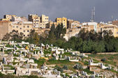 Old graveyard in Fes, Morocco — Stock Photo