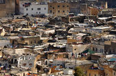 Aerial view over the medina of Fes, Morocco — Stock Photo