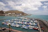 Marina, porto riko, gran canaria, i̇spanya — Stok fotoğraf