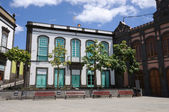Historic buildings in Arucas, Gran Canaria — Stock Photo