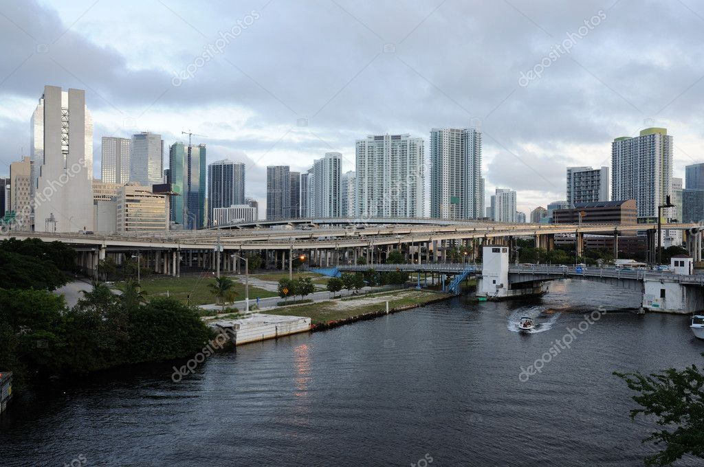 Miami River, Florida USA — Stock Photo #6386193