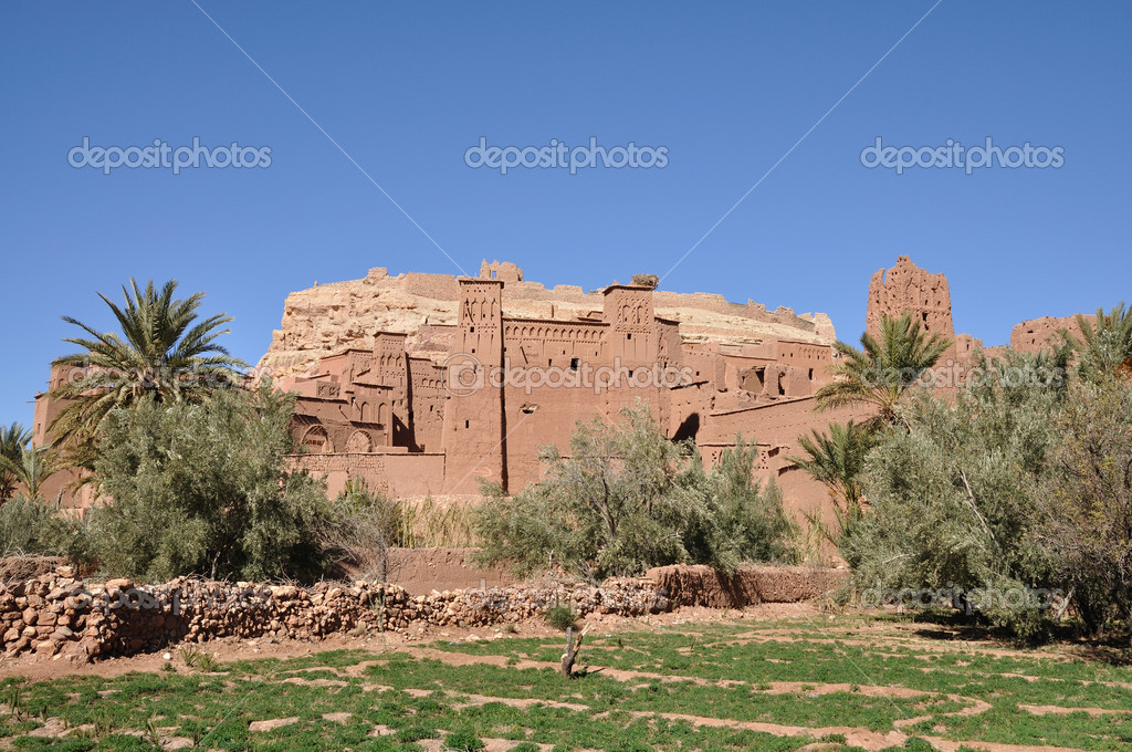 Casbah of Ait Benhaddou, Morocco Africa — Stock Photo #6387573