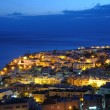 Town Morro Jable at night. Fuerteventura, Spain — Stock Photo