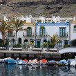 Puerto de Mogan, Grand Canary - Foto Stock
